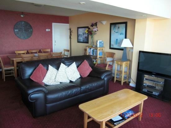 Ballygally Holiday Apartments : Living Area