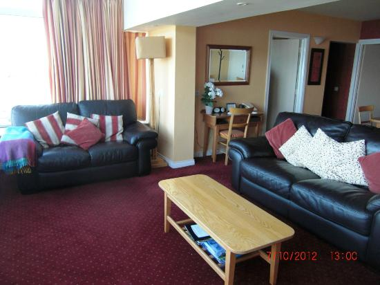Ballygally Holiday Apartments: Living Area
