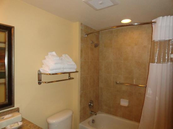 Wyndham Vacation Resorts At National Harbor : Guest Bathroom