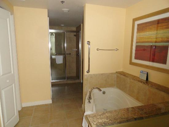 Wyndham Vacation Resorts At National Harbor: Master Bathroom