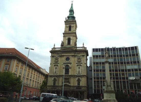 Church of St. Anne (Szent Anna Templom): Downtown Church of St. Anne