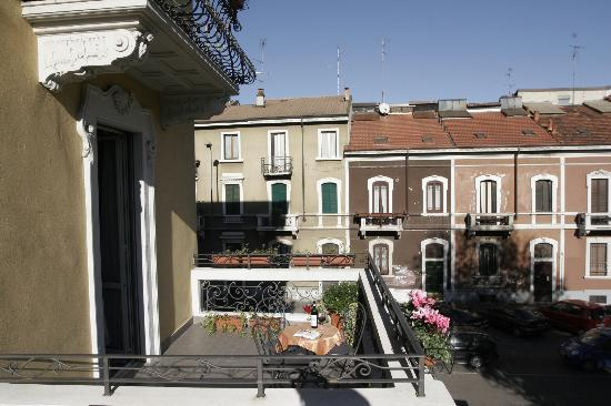 Hotel Florence: Double room terrace