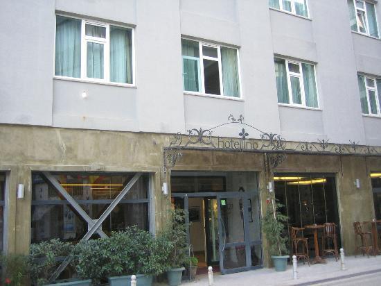 Hotellino Istanbul: Hotel von Vorne 