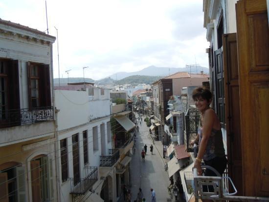 Hotel Leo: Our balcony