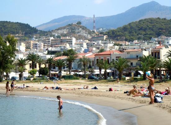 Hotel Leo: Beach of Rethymno
