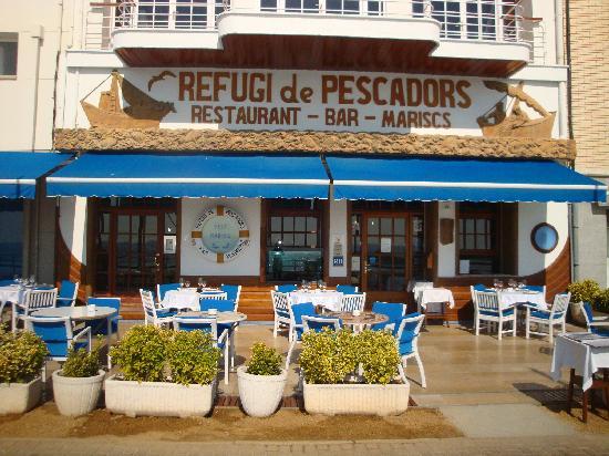 Sant Antoni de Calonge, Spanien: Vista exterior del restaurante