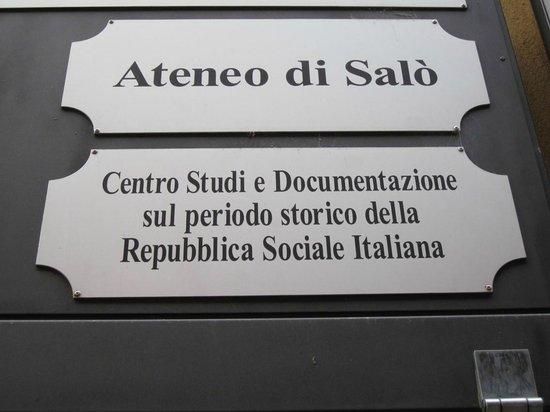 Centro Studi sul periodo storico della RSI