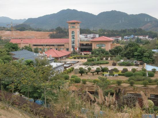 Valley View Hotspring Resort : scenery