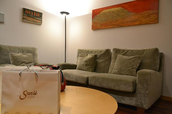 Sansi Pedralbes: cómodos sofás