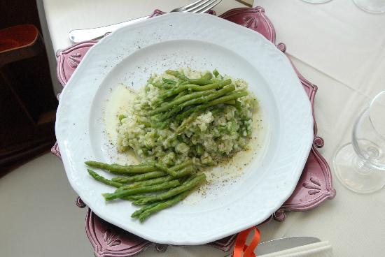 Hotel Piero Della Francesca: Risotto agli asparagi