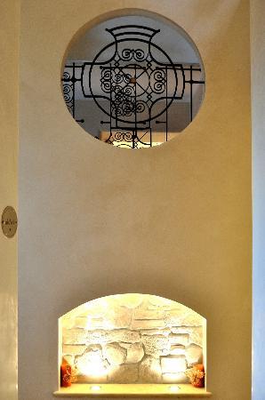 Al Casaletto : particolari dell'interno