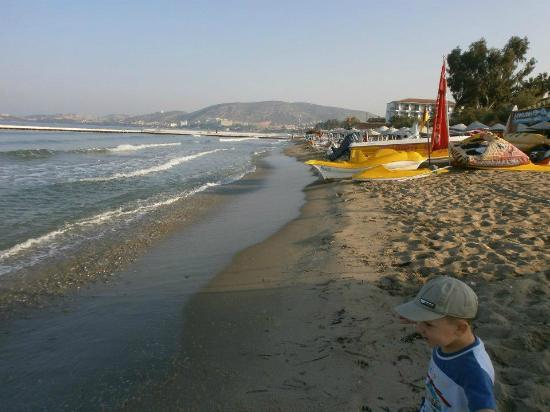 Atlantique Holiday Club: Hotel beach