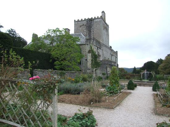 Buckland Abbey: Part of the gardens