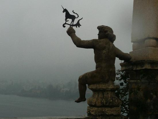 Isola Bella: the Unicorn is the Borromean's icon