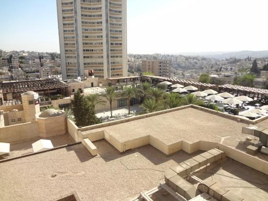 InterContinental Amman: View from my room. Amman is very clean indeed