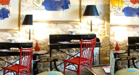 Hotel Prince de Conde: RECEPTION
