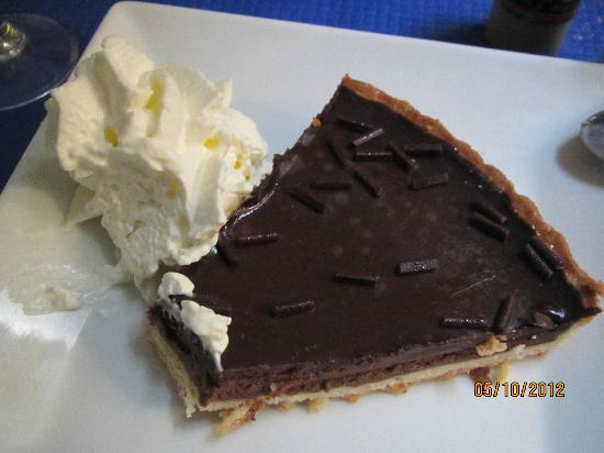 Le Plat Provencal : Chocolate pie