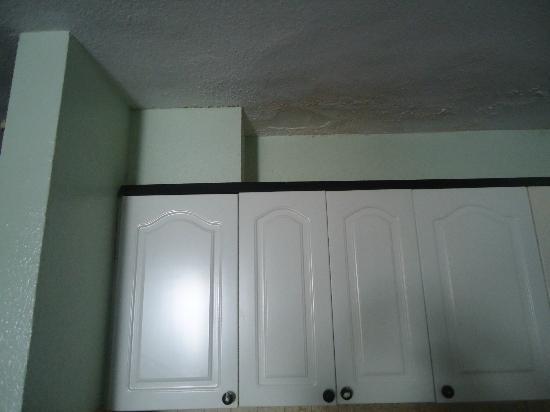 Paraiso del Sol Apartments: Techo de la cocina