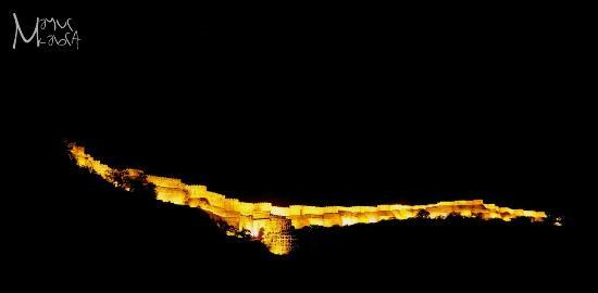 Rajsamand, Indie: Kumbhalgarh Fort Night View