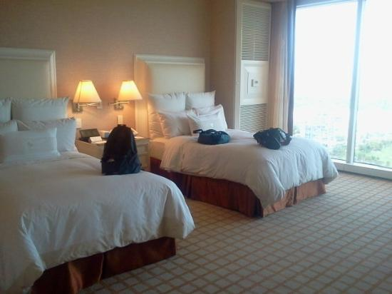 La chambre 2 lit double picture of wynn las vegas las for Chambre 8m2 lit double