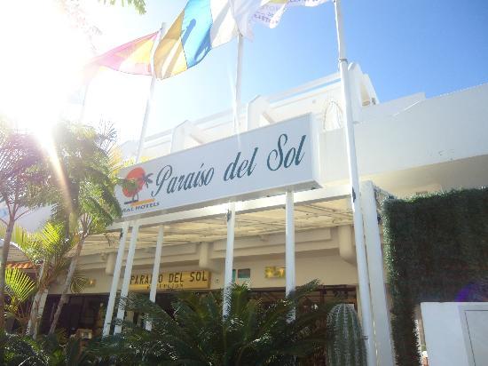Paraiso del Sol Apartments: Nombre del hotel