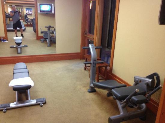 حياة كارميل هايلاندز: Fitness center 