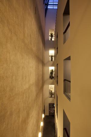 Hotel Bergs: Atrium