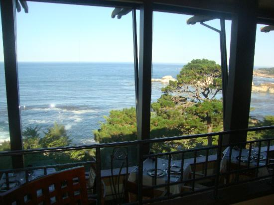 Hyatt Residence Club Carmel, Highlands Inn: Restaurant view