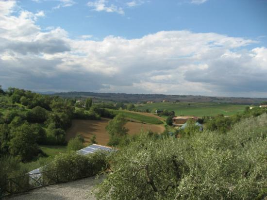 Il Fontanaro: View from the Loft