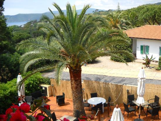 Hotel Villa Wanda: la vista della ns camera
