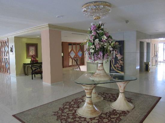 Amman International Hotel: Hall d'entrée