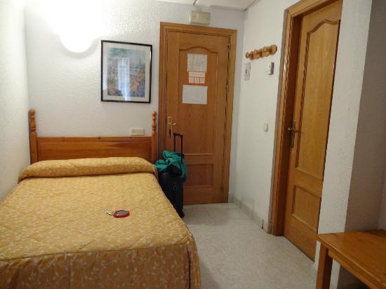 Hostal Alcazar: 客室・入口のほう