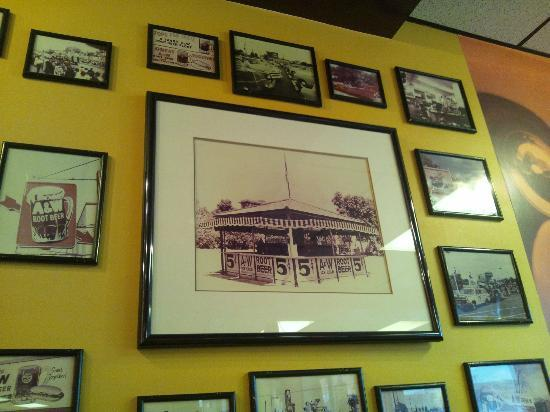 A&W Restaurant : 本場の歴史を感じます