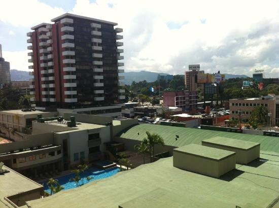 Barcelo Guatemala City : Partial view of the poo;