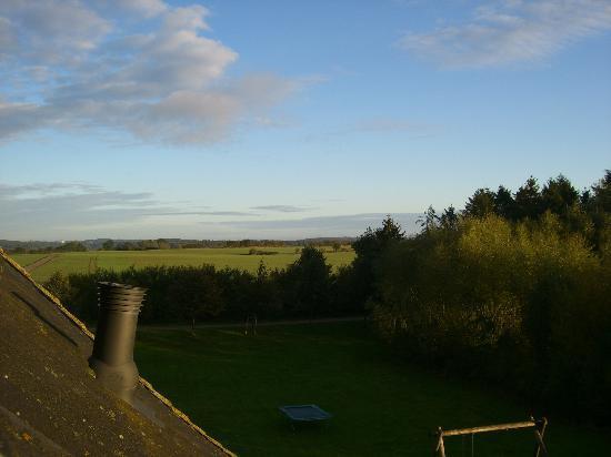 Landhaus Jagerhof: Aussicht aus dem Dachfenster