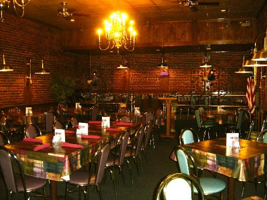 Kelly's: The smaller banquet room