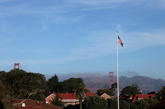 Inn at the Presidio: View from Our Room