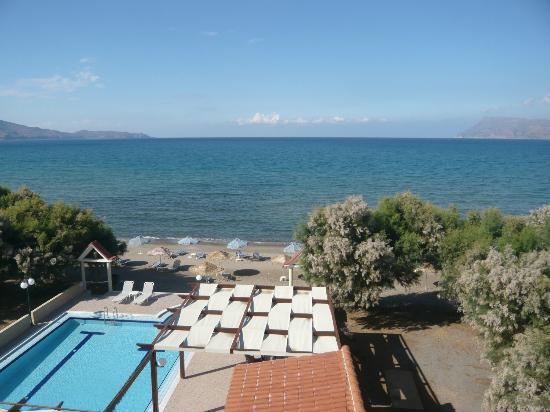 Mesogios Beach: Spiaggia dell'Hotel