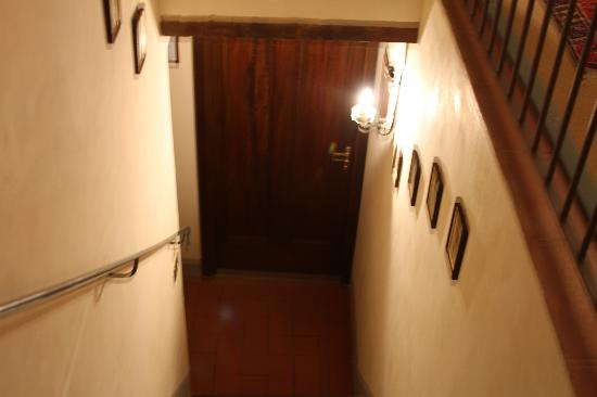 Castello di Spaltenna Exclusive Tuscan Resort & Spa: inside room 4 (stairway inside of room)