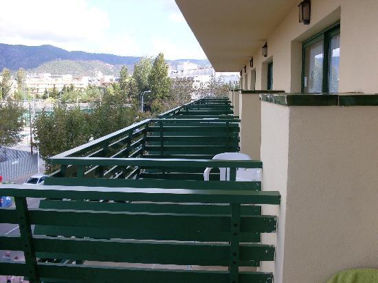 Apartamentos Inn: the lenth of apartments top floor