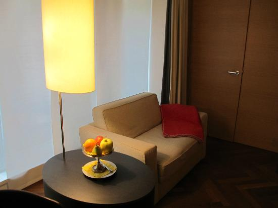 Hollmann Beletage Design & Boutique Hotel: coin salle room 24
