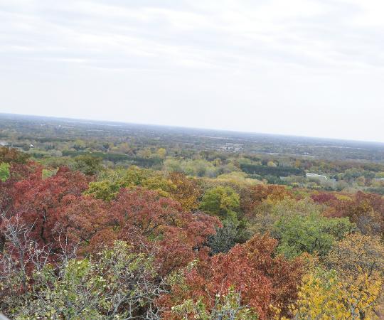 Lapham Peak: gorgeous colors