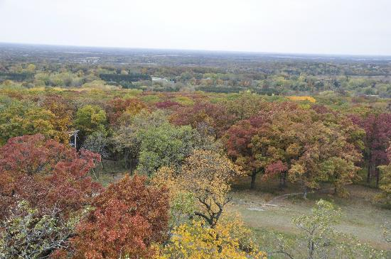 Lapham Peak: view from the tower