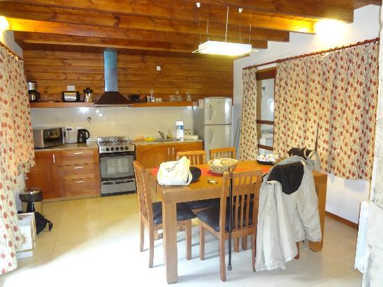 Bosque del Nahuel: Cabañas