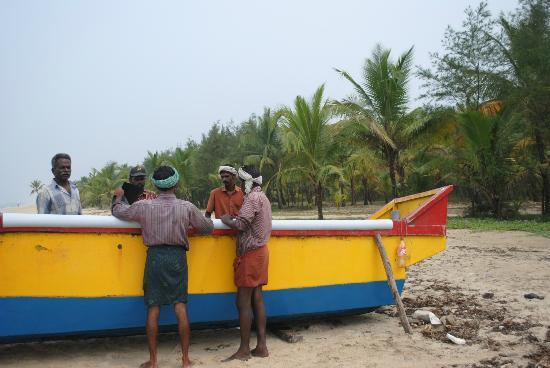 Marari Beach Resort: Fishermen