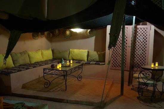 Riad Abaca Badra: tente saharienne