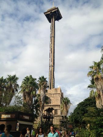 hurakan condor by far the scariest ride there picture of portaventura world salou