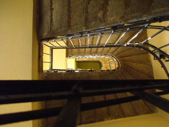 Downtown Apartments Budapest: Some stairs by the apartments.