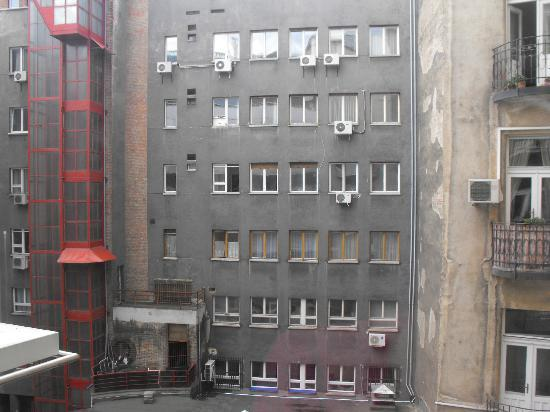 Downtown Apartments Budapest : View from the room.