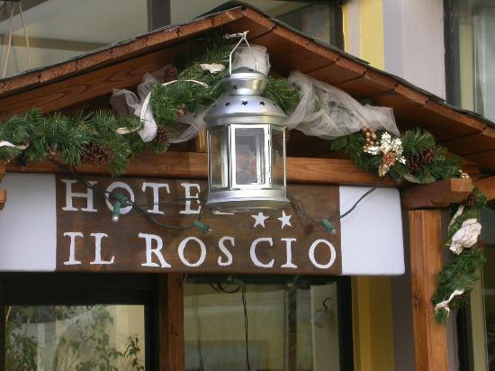 Hotel il Roscio: particolare entrata